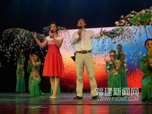 宁德市畲族歌舞团表演舞蹈由兰巧琼、甘久航带来的朗诵《春天的西洋