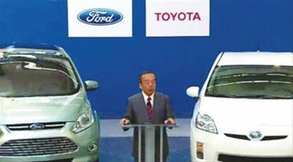 丰田汽车公司宣布,双方将共同研发用于小型皮卡及suv车型的新高清图片