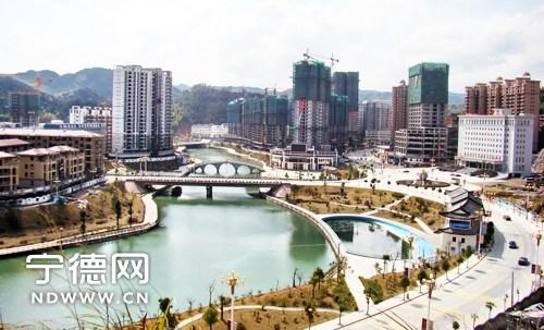 寿宁加快推进东部新区基础设施建设